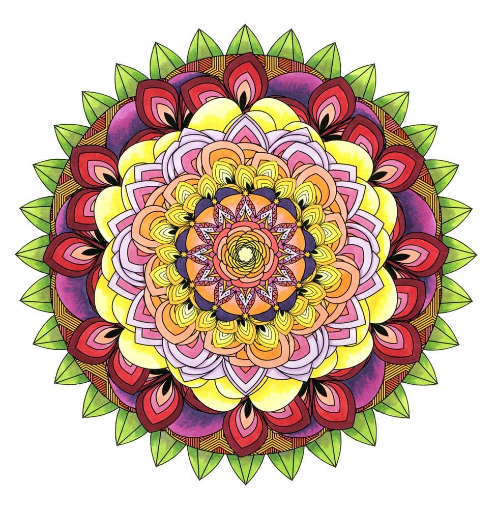 Mandala Coloring Book Ideas