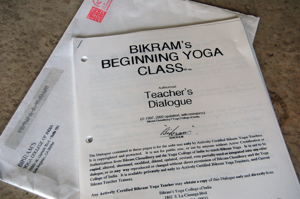 The Bikram Yoga Dialogue -- Straight From The Horse's Mouth